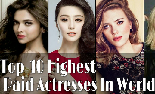 Highest Paid Movie Actresses in the World | Net Worth